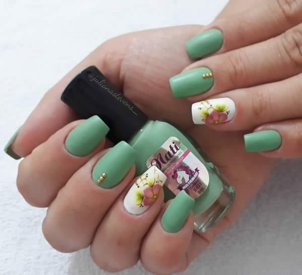 Unhas Decoradas 2021 Tons Pastel