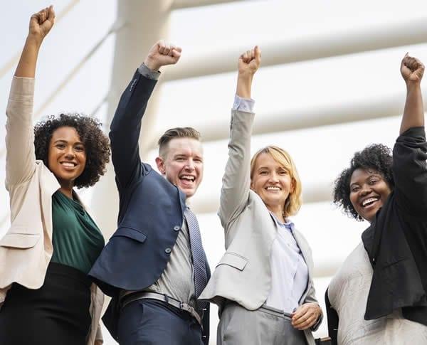 pessoal de vendas aumento de vendas