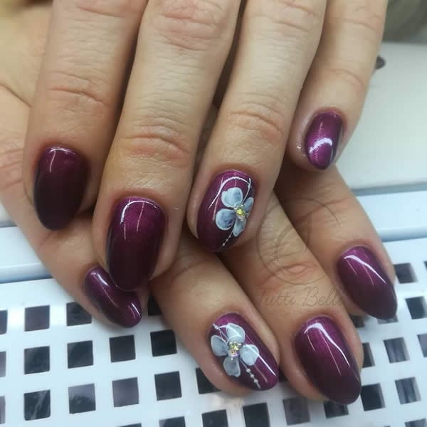 unhas decoradas lindas de gel
