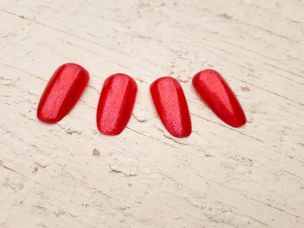 misturinha esmalte vermelho
