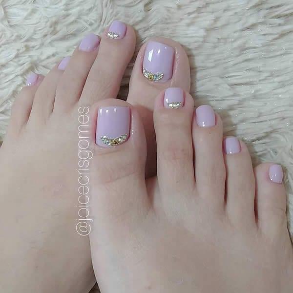 unhas do pé