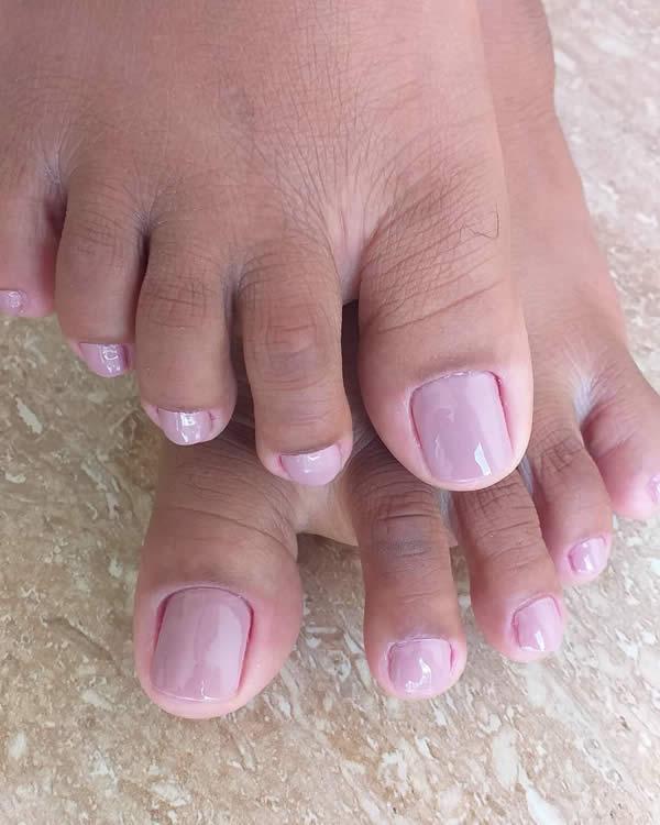 unhas do pés