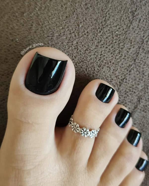unha dos pés