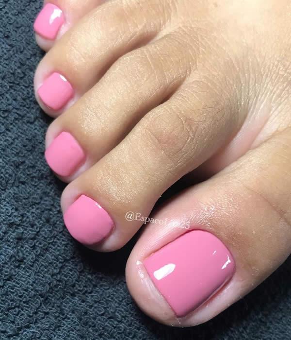 unha do pés