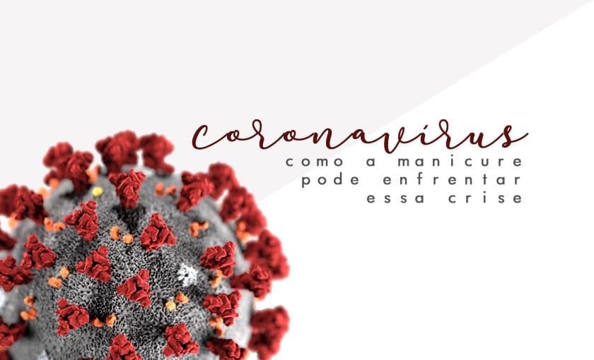 manicure coronavírus como se proteger