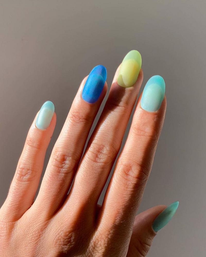 unhas primavera verão 2020 2021 jelly nails foscas