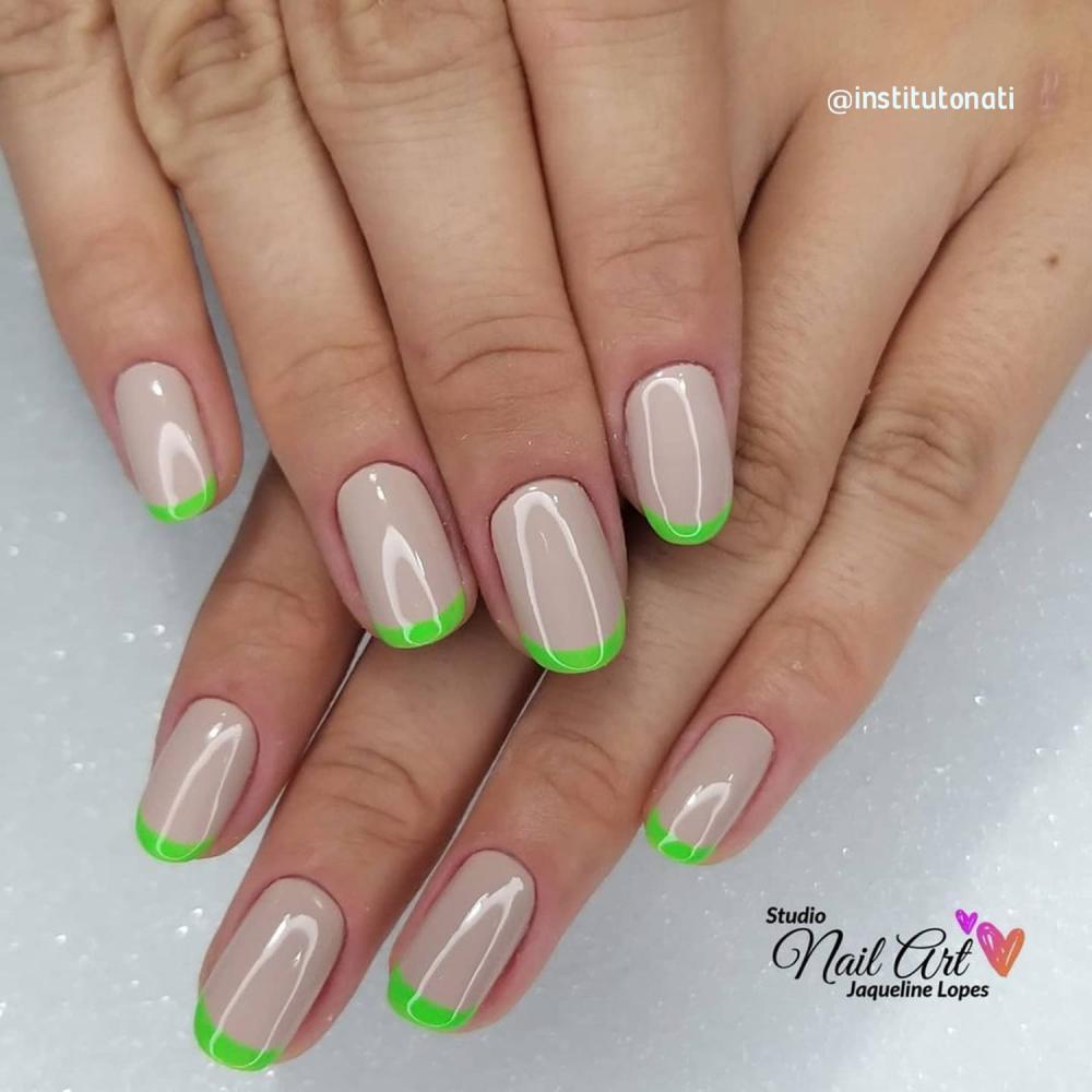 esmalte neon verde
